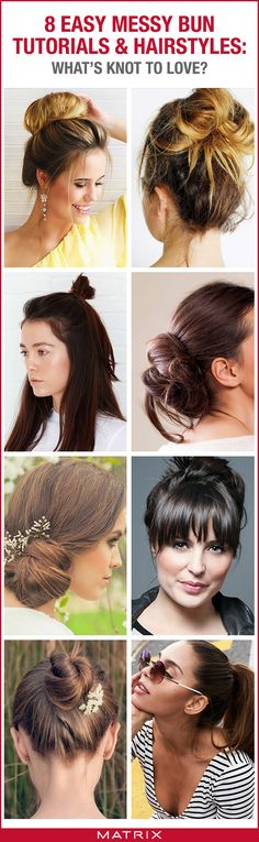 Pinterest Messy Bun Blog