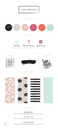 Branding for Sara Moore || Emily McCarthy #site:toddlerboutique.us