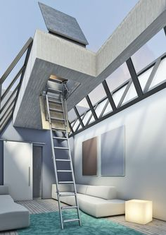 #Ladder #Attic #Loft #Terrace #Hatch #Scala #Scale #Retrattile #Retrattili #Pantografo #Terrazza #Parete #Elettrica #Motorizzata #Autoattic