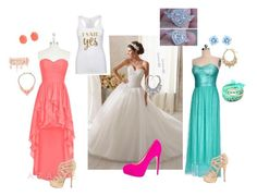 """""""My wedding day"""" by abbiegoen-1 ❤ liked on Polyvore"""