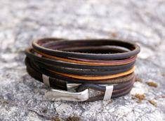 Boho leather wrap bracelet, handmade leather jewellery, unisex leather bracelet,leather bracelet for men ,Fashion trends Summer Bracelets, Bracelets For Men, Fashion Bracelets, Handmade Leather Jewelry, Handmade Bracelets, Leather Necklace, Leather Bracelets, Fitness Bracelet, Unisex