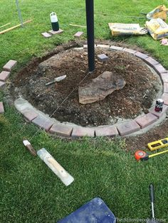 How To Install Brick Garden Borders…The Easy Way! How To Install Brick Garden Borders…The Easy Way! Brick Landscape Edging, Brick Garden Edging, Landscape Bricks, Garden Borders, Landscape Design, Tree Borders, Japanese Landscape, Garden Design, Flower Bed Borders