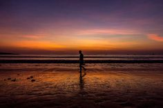 Another Perfect Spot to See the Sunset in Bali: Jimbaran Beach