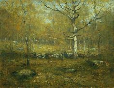 Henry Ward Ranger (American, 1858–1916). Spring Woods, ca. 1895–1900. The Metropolitan Museum of Art, New York. Gift of George A. Hearn, 1906 (06.1293) #spring