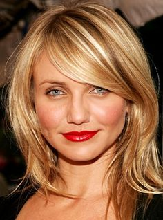Great color with depth of highlights and low lights and fabulous deep side part! Love! Long Layered Haircuts, Round Face Haircuts, Hairstyles For Round Faces, Layered Hairstyles, Blonde Hairstyles, Fringe Hairstyles, Large Forehead Hairstyles, Straight Hairstyles, Bouffant Hairstyles
