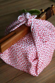 【 SASHIKO FUKIN ☆Hand-stitched cloth 】 ■刺し子マット / hananiwa ■箸箱 メンズ¥6,237 / いぐさブティック草