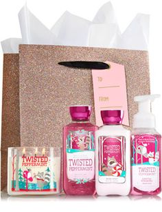 Twisted Peppermint Ultimate Fragrance Fan - Signature Collection - Bath & Body Works