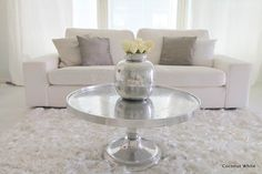 Coconut White - white living room with Riviera Maison