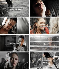 Raven Reyes: you are not the heaviness sitting inside of you #the100