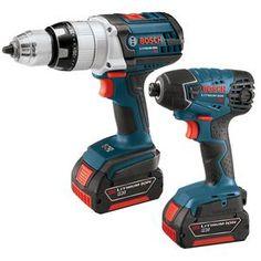 Bosch 2-Tool 18-Volt Cordless Combo Kit Clpk221-181
