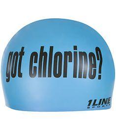 Got Chlorine? #diving, #swimming, #bathing caps
