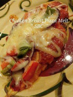 Chicken Breast Pizza Melt