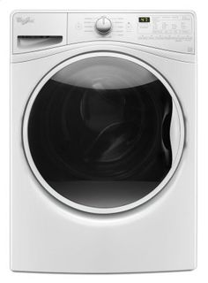 WFW85HEFW in White by Whirlpool in Norwalk, CT - 4.5 cu. ft. Front Load Washer with TumbleFresh option