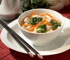 Soupe asiatique aux nouilles
