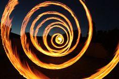 Firey Spiral