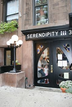 Serendipity in NYC.