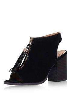 **Schwarze SAANA Sandaletten von Miss KG