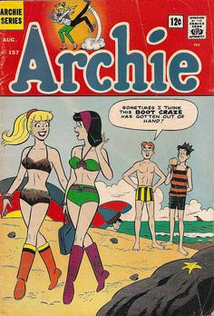 Archie No. 157 - Archie Series Comic Book c. August 1965 by undoneclothing, via Flickr