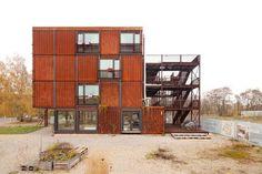 Jan Bitter, Holzer Kobler Architekturen, Nipkow Landschaftsarchitektur, Berlin, Studentenwohnheim, Containerdorf