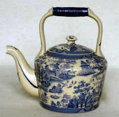 ❤❤❤ Blue Willow Kettle ❤❤❤
