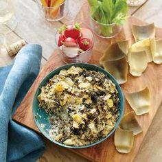 Fresh Artichoke and Kale Dip | MyRecipes.com