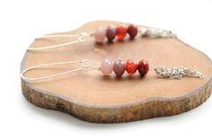 Hang oorbellen kristallen  kristallen van SnaaraBaaraBijoux op Etsy, €14,00