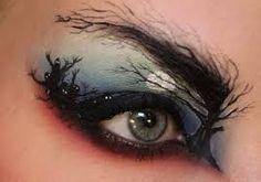 Woodsy eye look
