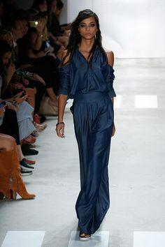 Nicole Miller fashion show during Spring 2016 New York Fashion Week:
