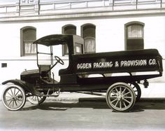 Model T Ford Forum: Old Photo - Model TT, Ogden Packing And Provision Co.