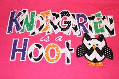 Kindergarten+Shirt+by+RazzleDazzleMimi+on+Etsy,+$23.00