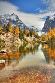 Cascade+Lakes, Yoho National Park, BC, Canada