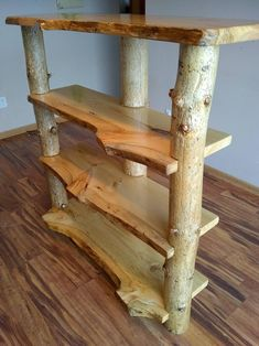 Rustic Italian Home Woodworking Projects Diy, Diy Wood Projects, Furniture Projects, Furniture Plans, Diy Furniture, Furniture Design, Wood Log Crafts, Teds Woodworking, Bedroom Furniture