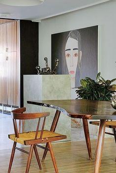 Interior design | decoration | home decor | furniture | Raf Simons' home