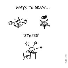 No worries. Just take a deep breath... Word of day 114: stress. . . #365waystodrawfestival #stress #illustratie #illustration #tekening #waystodraw #icons #sketchnote #visualnote #graphicrecording #getekendverslag #getekendenotulen #zakelijktekenen #visuelenotulen #visueelnotuleren #tekening #studiolimon #haarlem #amsterdam #denbosch #dailydrawing