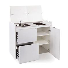 All In One Kitchen Unit With Built In Refrigerator   Buy Full Feature  Kitchenettes,Compact Kitchen,One Piece Kitchen Unit Product On Alibaba.com    Kitchen ...