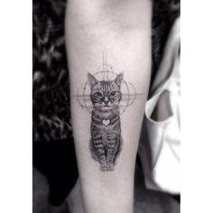 Cat tattoo!