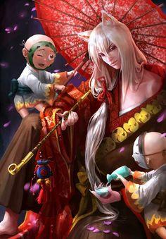 anime, kamisama hajimemashita, and fan art image Tomoe Tomoe, Kamisama Kiss, Nanami, Manga Art, Manga Anime, Anime Art, Anime Comics, Anime Cosplay, Demon Manga