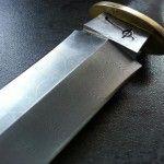 damascus boot knife