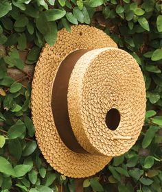 4516: Straw Hat  Birdhouse (Product Detail) from Charleston Gardens $65