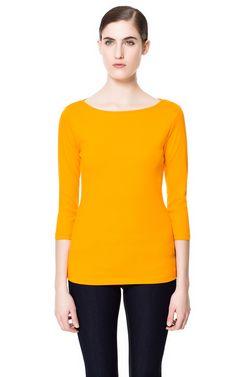 ベーシックTシャツ - Tシャツ - WOMAN - ZARA 日本