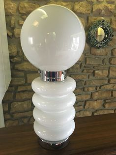 table lamp by Carlo Nason for Mazzega