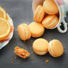 Orange Macaron by cofetaria Armand