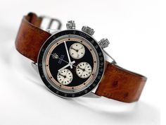 Men's Fashion: Rolex Daytona Paul Newman Cosmograph a rare one. Men's Watches, Luxury Watches, Cool Watches, Watches For Men, Vintage Rolex, Vintage Watches, Rolex Daytona Paul Newman, Rolex Daytona Watch, Breitling