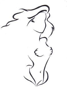 figura sirenita . simple y faciil