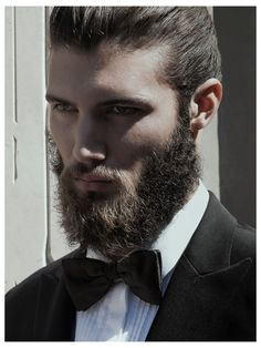 Woooow Beard BowTie Japok by Vincenzo Laera for The Fashionisto