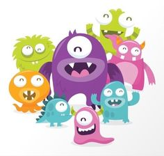 Silly Monsters / TotallyJamie