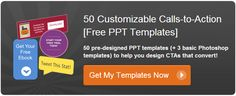 Free call-to-action templates from Hubspot
