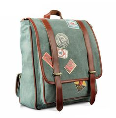 Unique Backpacks Backpack Handbags Cycling Backpack Material:Canvas,Leather Color:Green, Red, Khaki,Olive (Greenish Gray) Hardware: MetalHardware Closure:Zipper Gender: Unisex Size: 38*12*32 cm How to wash a backpack Follow us on Instagram @bagshopclub