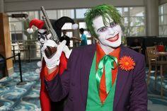 The Joker and Harley Quinn at Long Beach Comic Con 2013.