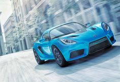 Detroit Electric Updates Design For SP:01 Sports Car. See more on Motor Authority